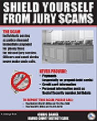 Jury Scam Poster